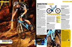 Five Pro 2010 Trail Bike of the Year