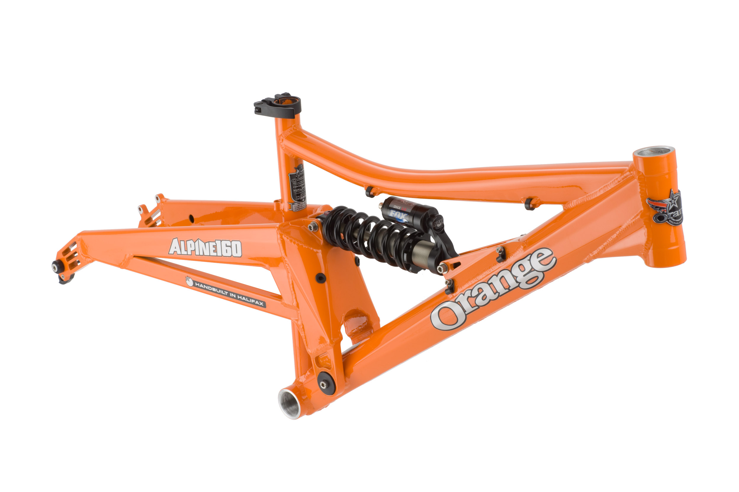 Orange Mountain Bikes - 2009 Orange Alpine 160 Frame