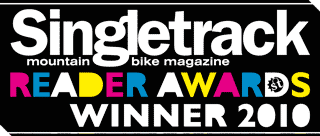 2010 Singletrack readers award winner