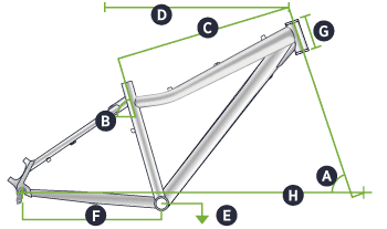 Diva Hardtail Geometry