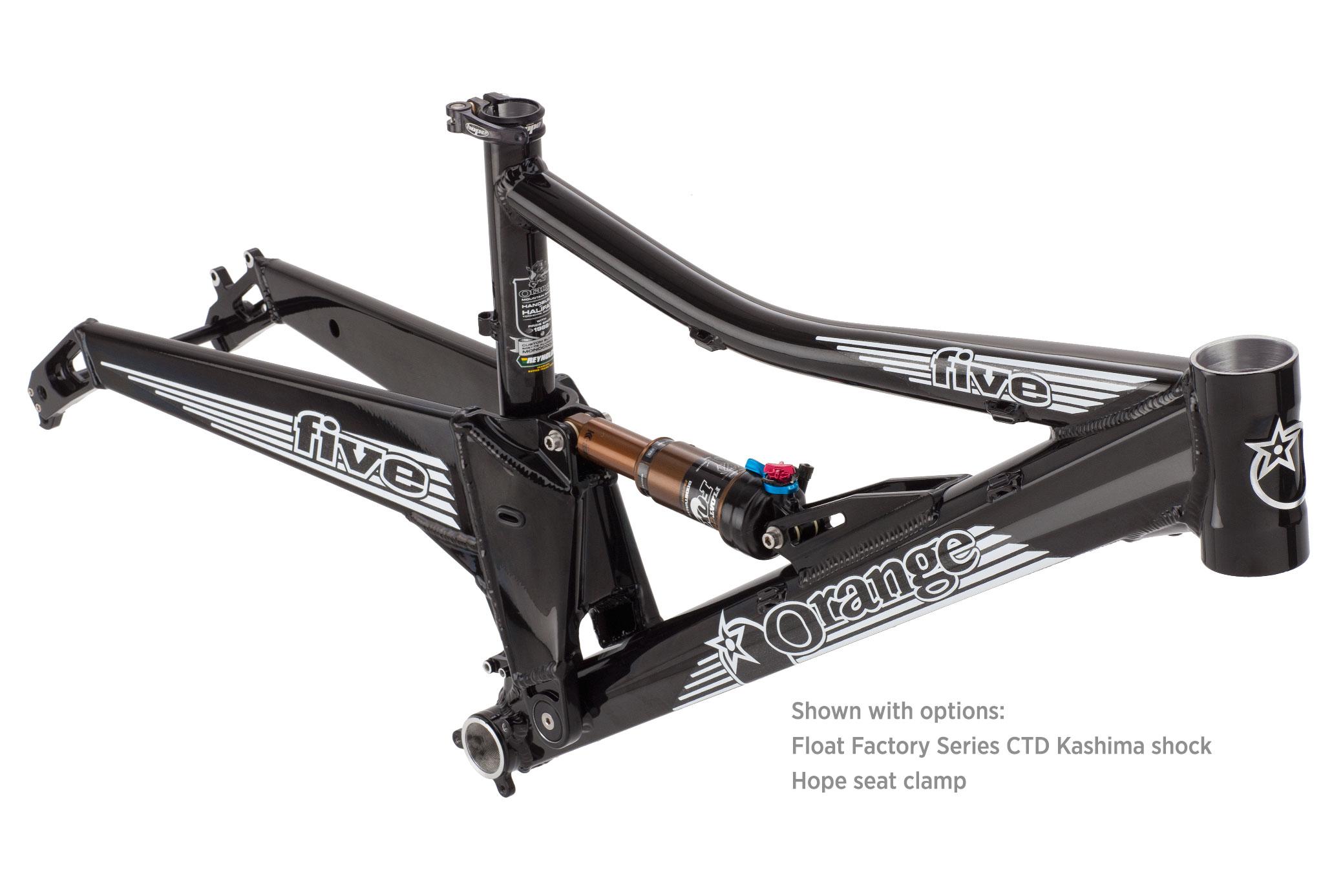 Orange Mountain Bikes - 2014 Orange Five Frame