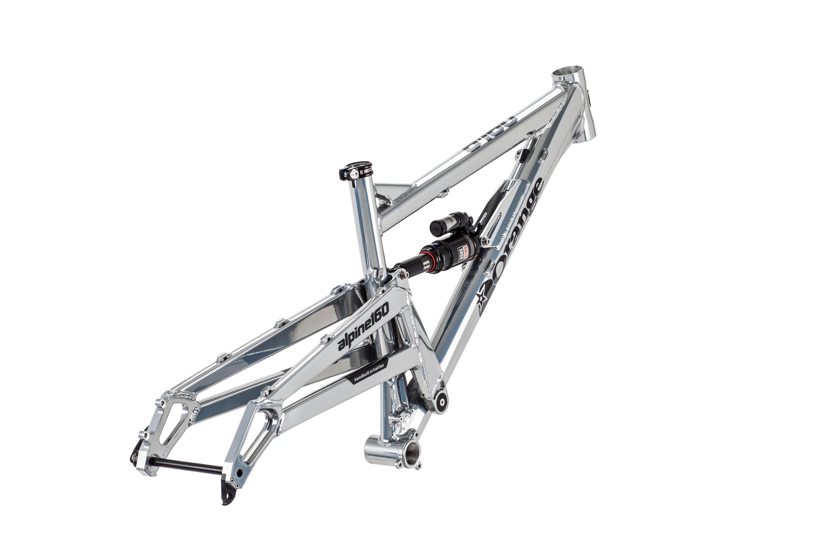 Alpine 160 Frame | Orange Mountain Bikes