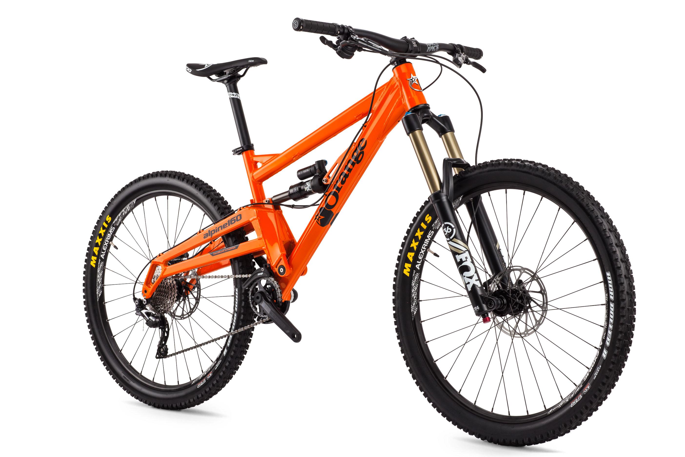 Alpine 160 Pro | Orange Mountain Bikes