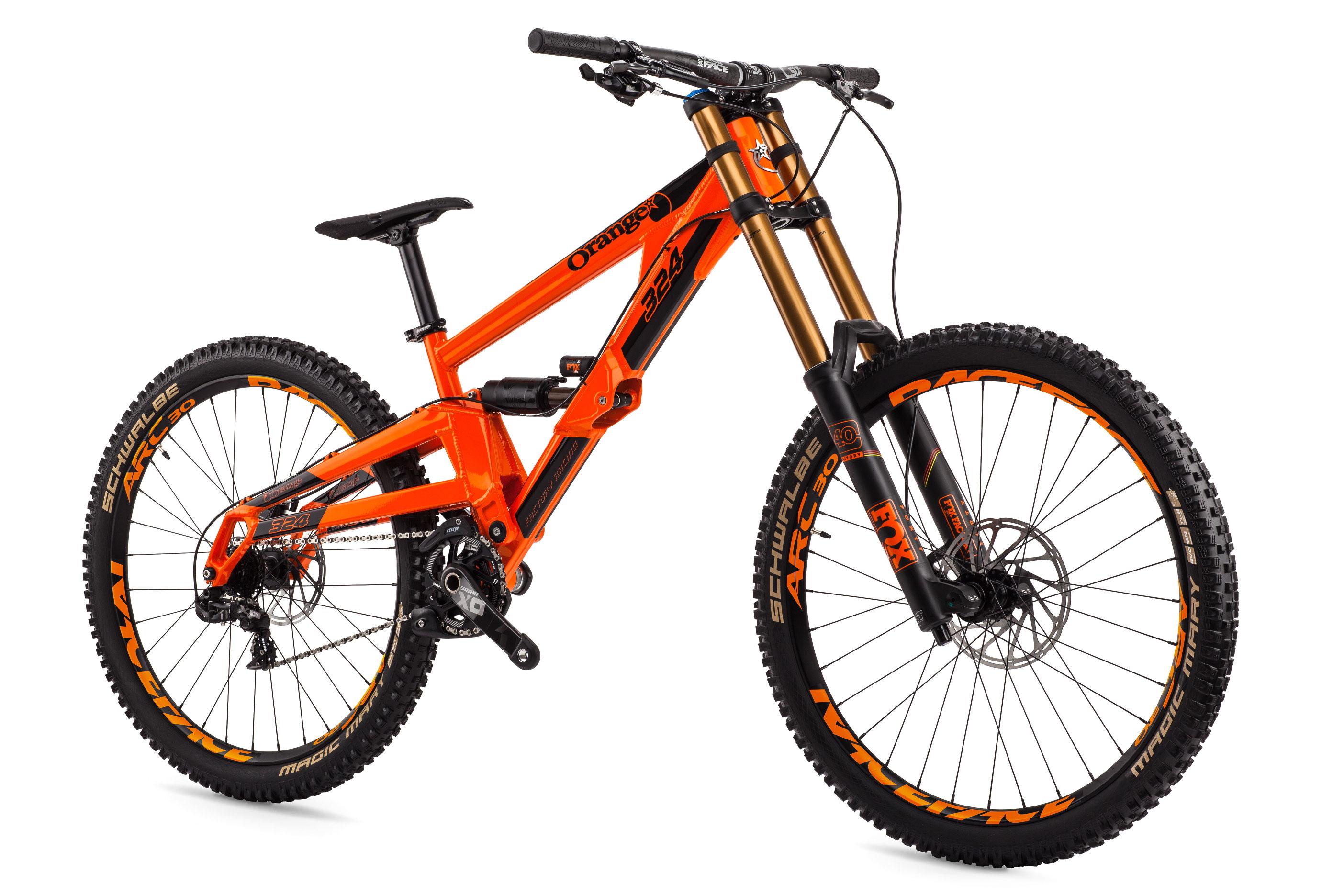 324 Factory Orange Mountain Bikes