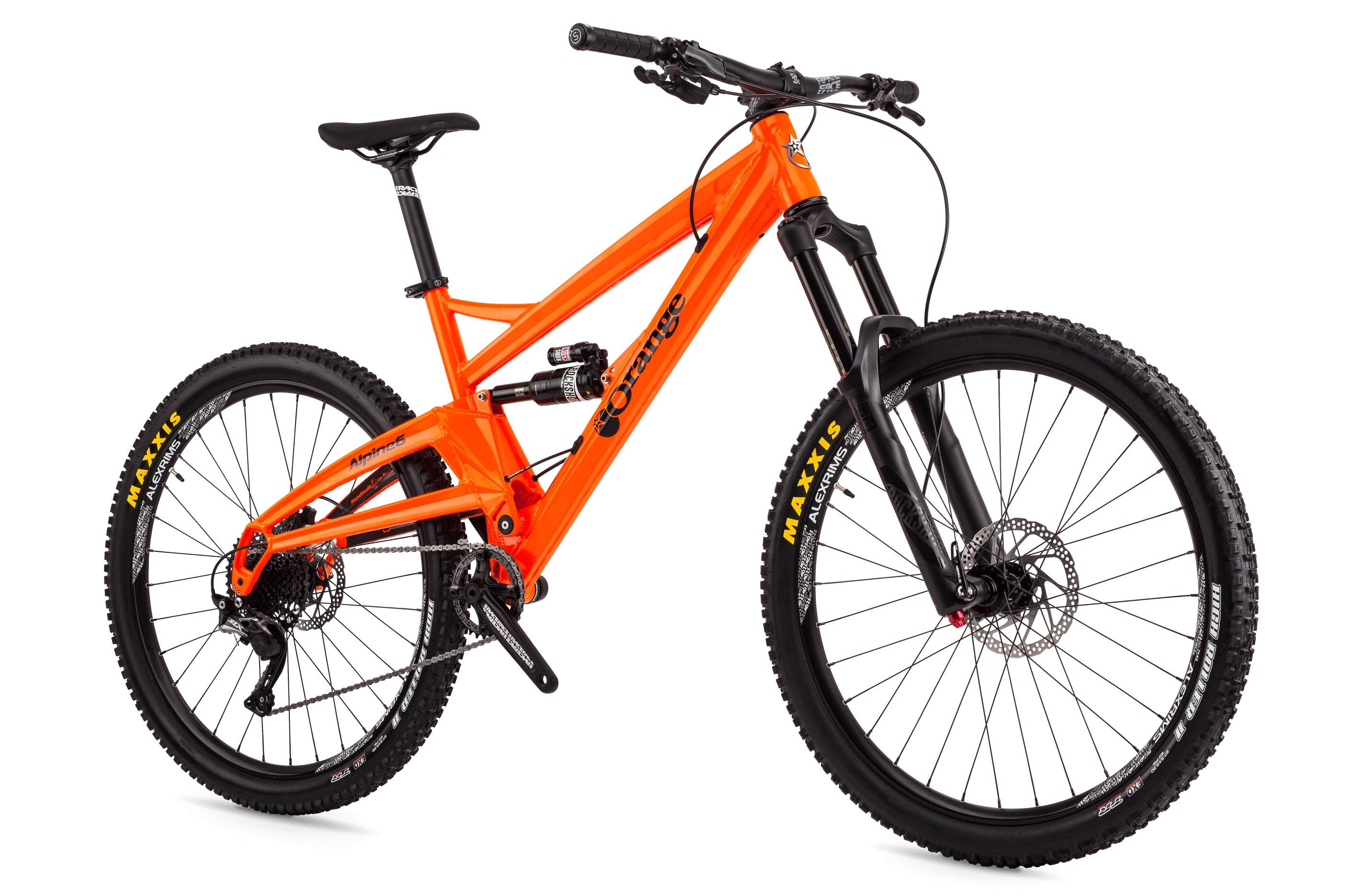 Alpine 6 S Orange Mountain Bikes