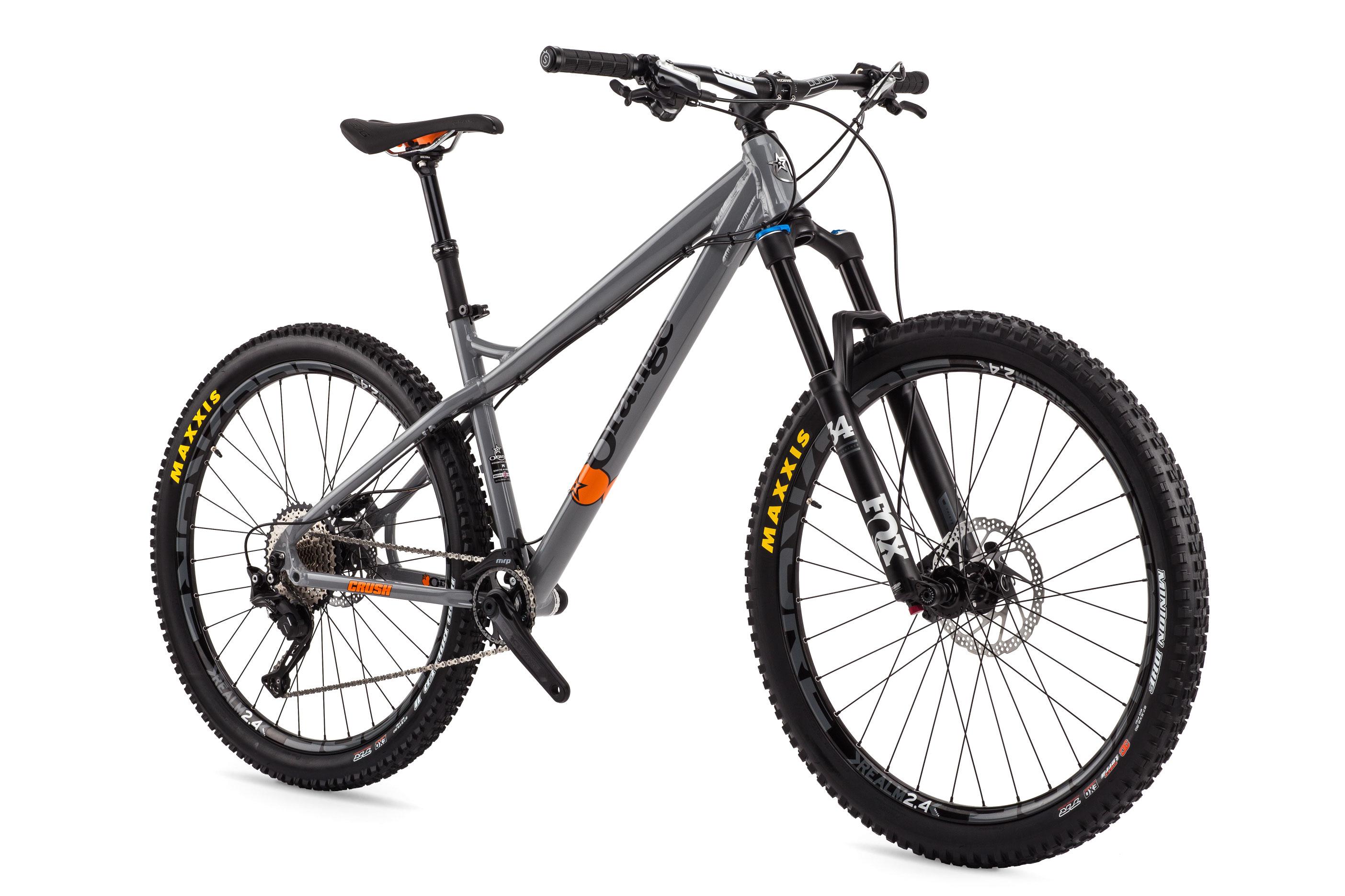 Crush Pro Orange Mountain Bikes