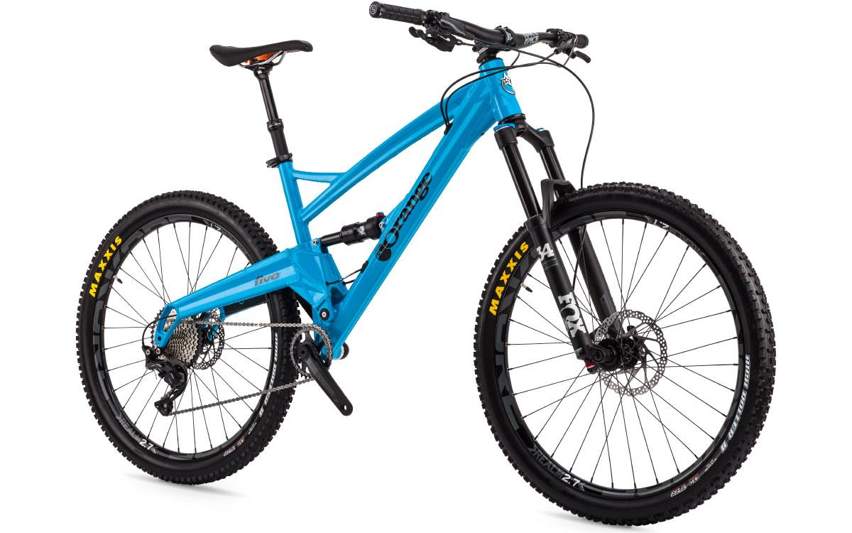 Five Pro Orange Mountain Bikes