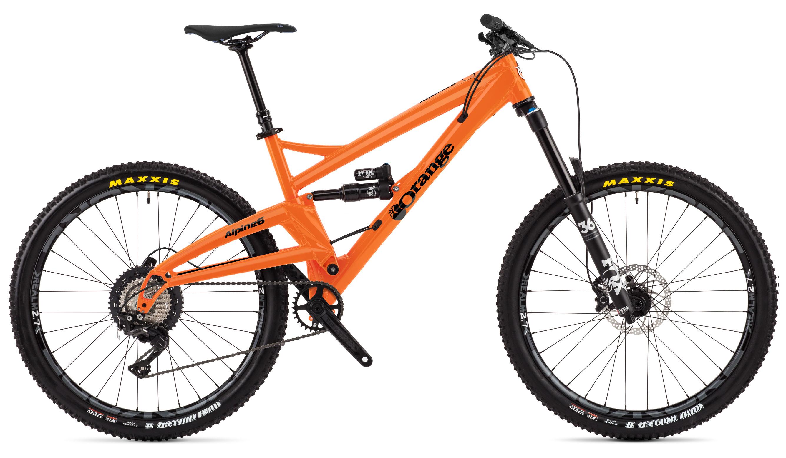 Mountain Bike Range | Orange Mountain Bikes