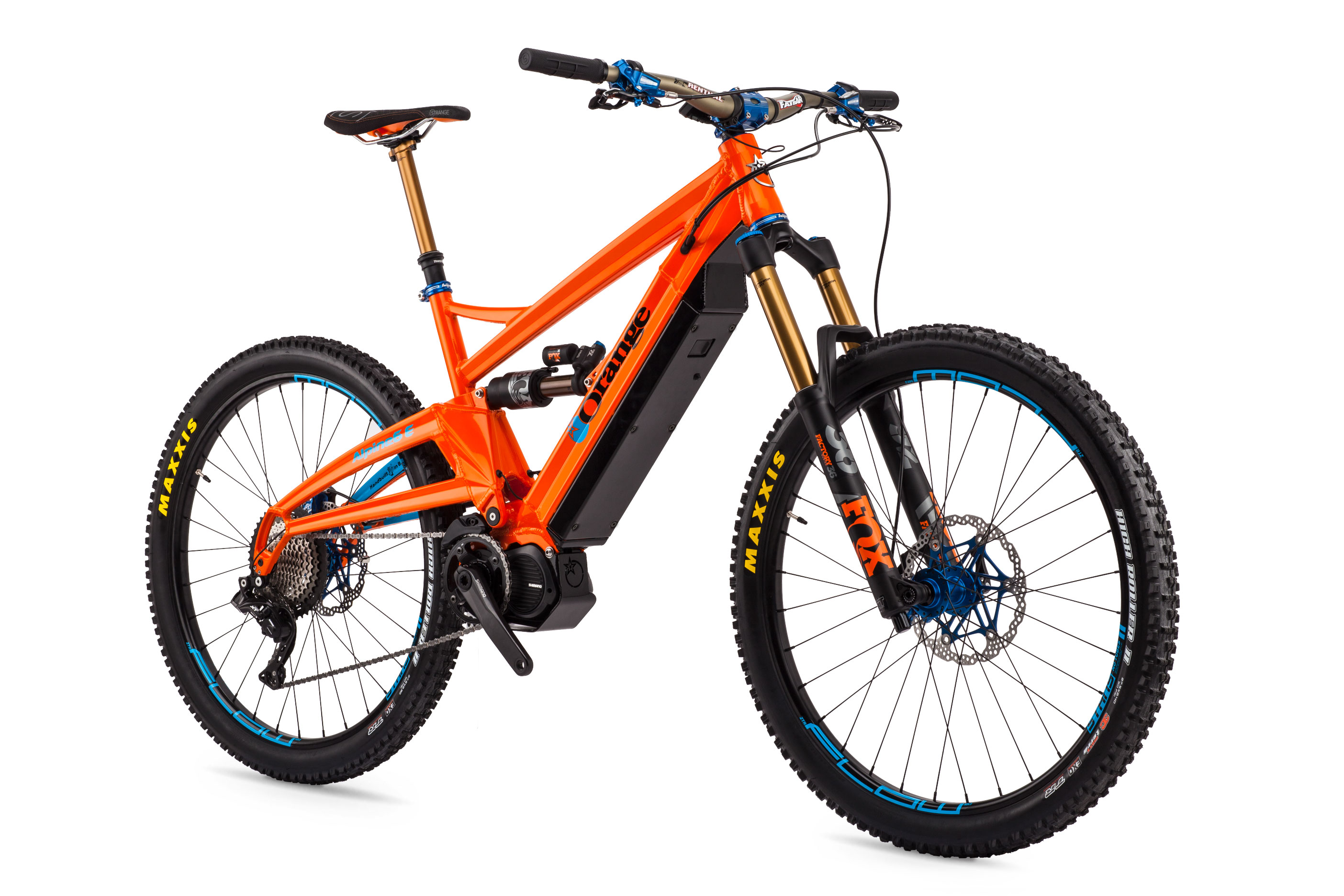 alpine 6 e le orange mountain bikes. Black Bedroom Furniture Sets. Home Design Ideas