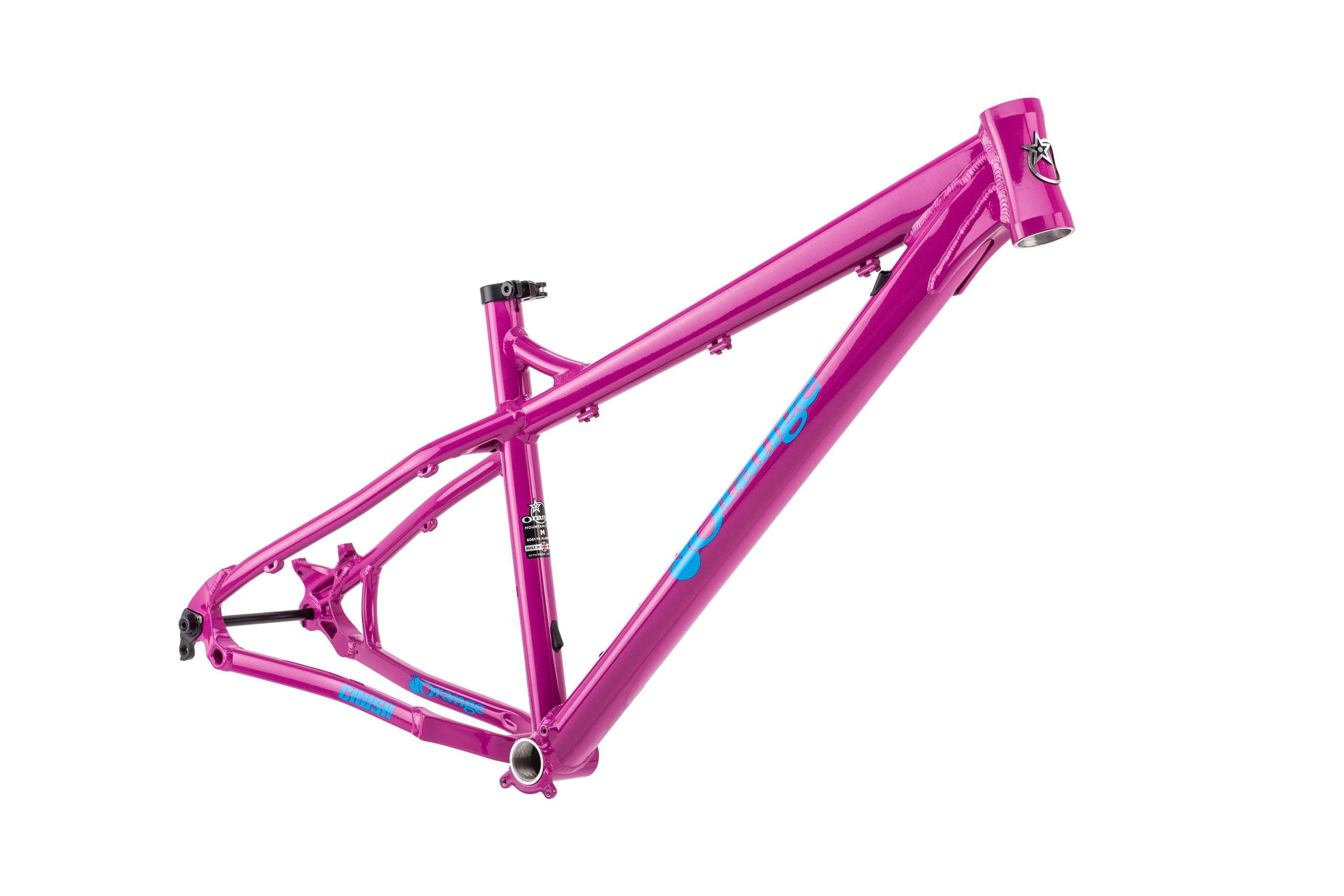 Crush Frame | Orange Mountain Bikes