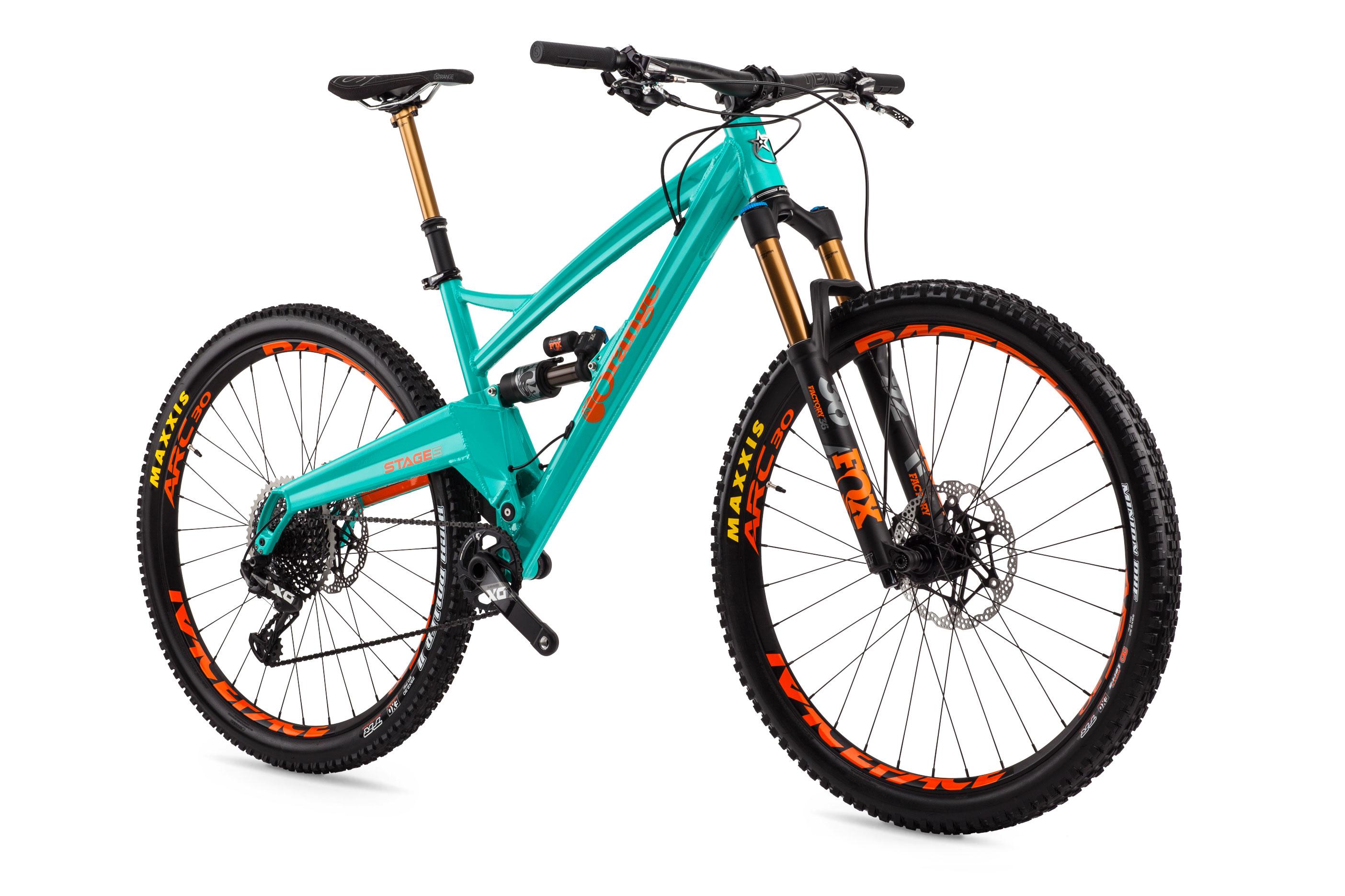 Mountain Bike Range Orange Mountain Bikes