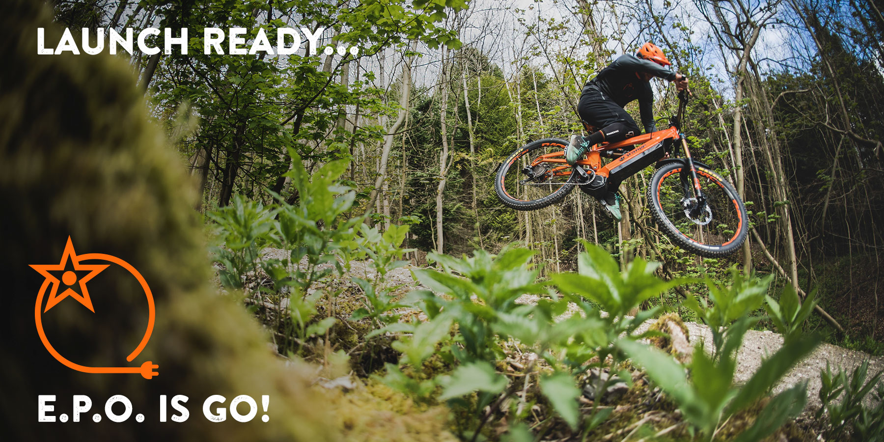 Launching an E-bike/ Sure you can. Find out more on the EPO program - #electricpoweredorange