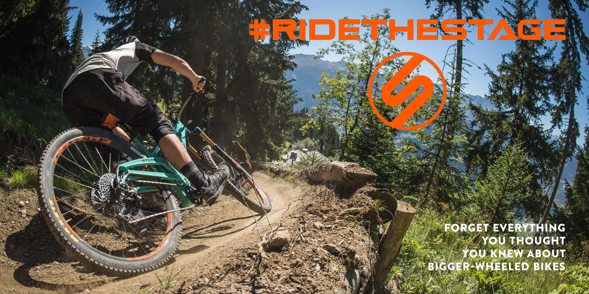 Ride the Stage - the new 29ers are here.