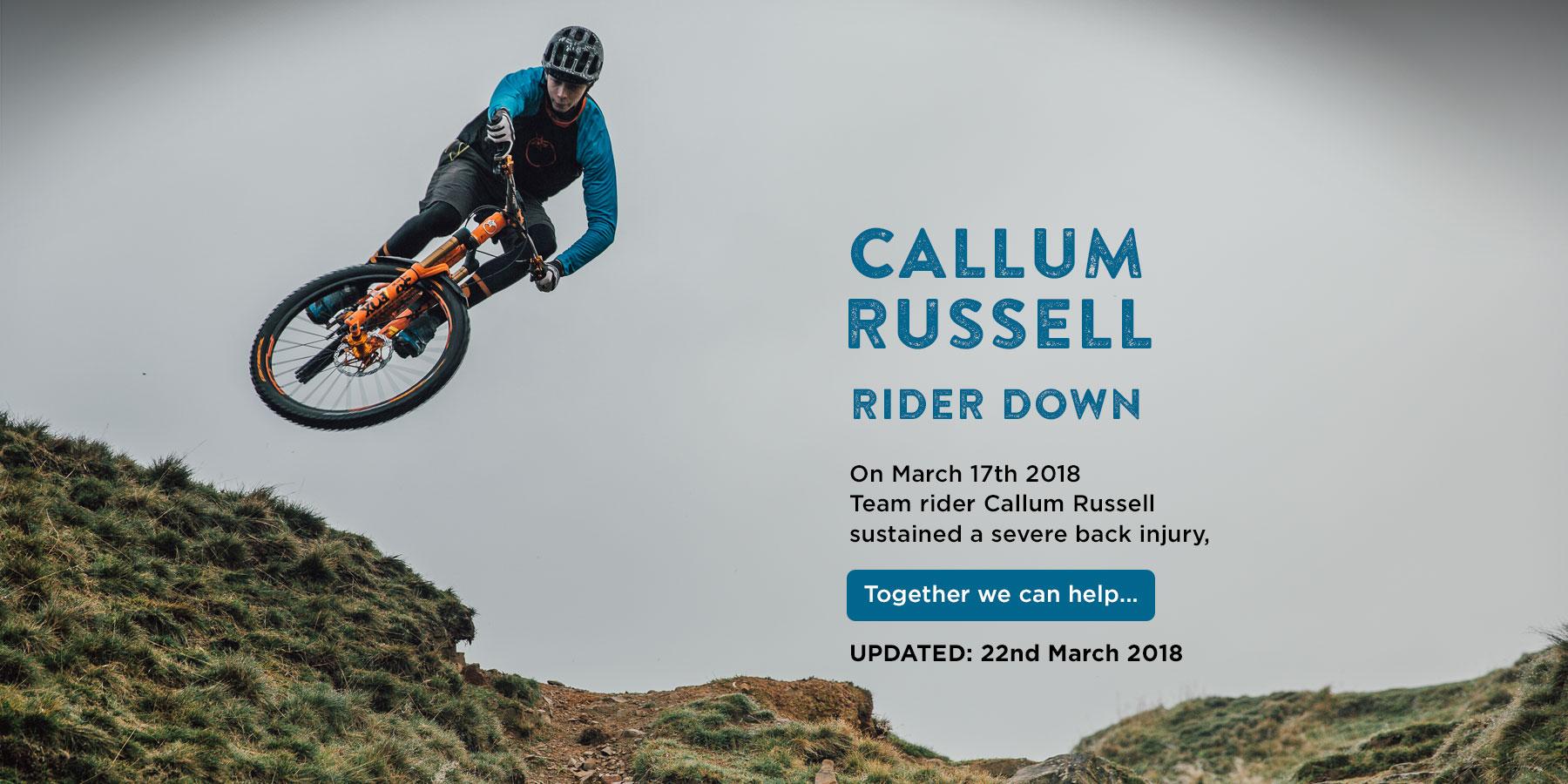 Callum Russell Rider Down