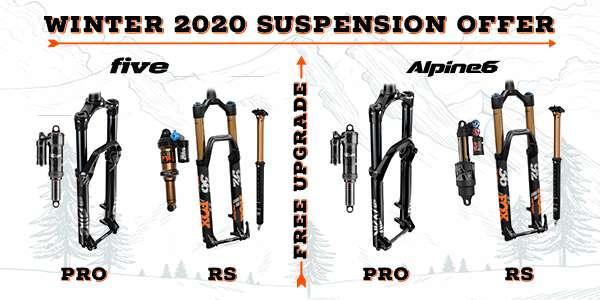 Winter Offer - Free Suspension Upgrade