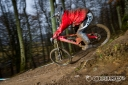 Fraser's taking to the 224-Evolution pretty well for the MTBcut - Orange Bikes team