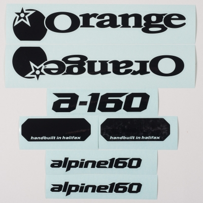 Black decal kit