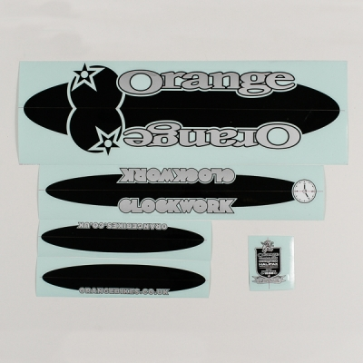 silver/black decal kit