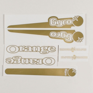 Gold decal kit