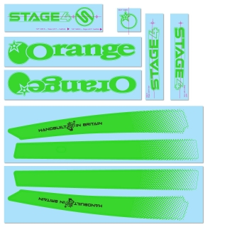 Green Decal Kit