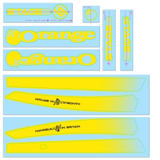 Yellow Decal Kit