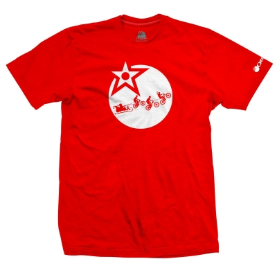 The Orange Bikes Christmas Tee Front