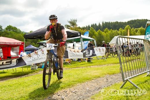 BJ Orange Bikes No Fuss Events Kirroughtree
