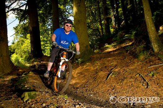 Frazer Coupland Orange Bikes No Fuss Events