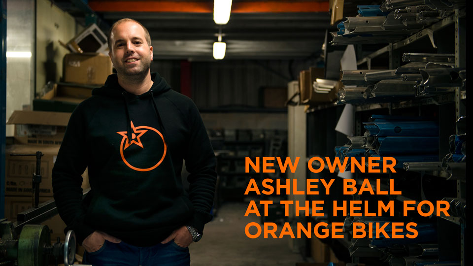 Ashley Ball at the helm for Orange BIkes