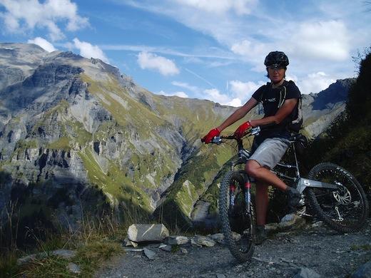 Sian Hughes Orange Bikes Endlessride