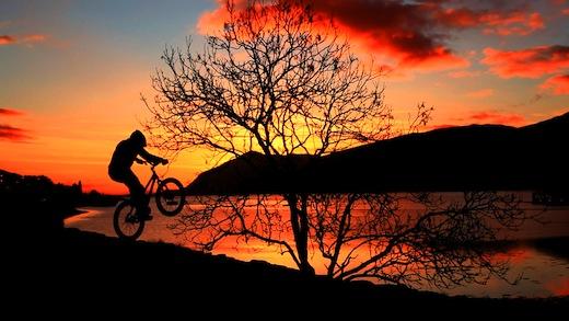 Danny Macaskill Jimmy Savile MTBcut Orange Bikes Outdoor Capital