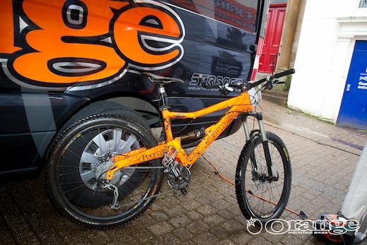 Orange Five Tour de Ben Nevis Adam Proctor