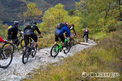 Orange Bikes Tour de Ben Nevis