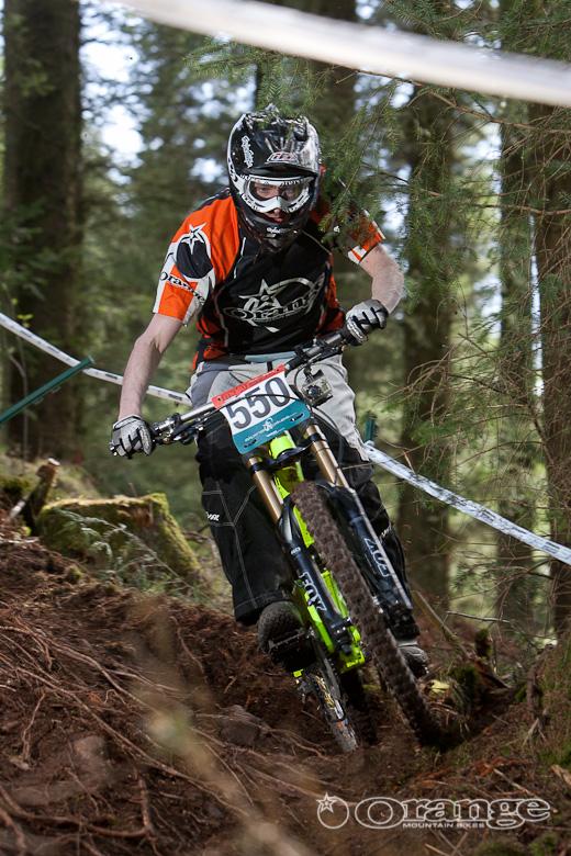 Vaughan Evans Orange Bikes 322