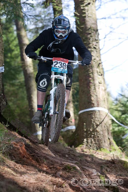 Orange Bike Dave Flynn Ae Forest SDA