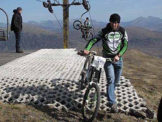 Orange Bikes Glen Coe Ski Resort No Fuss MacAvalanche