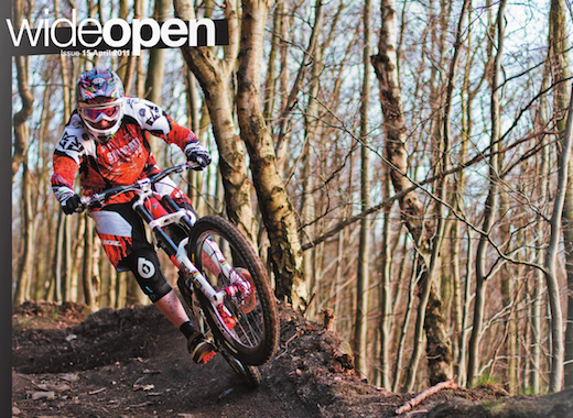 Wideopen Magazine Orange Bikes Steve Peat