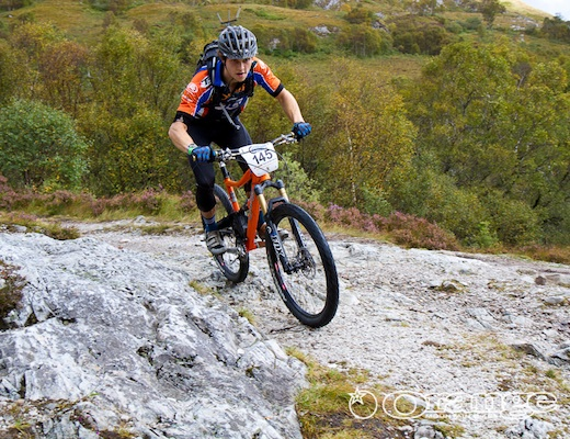 James Shirley Orange Bikes Tour de Ben Nevis