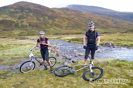Orange Bikes Tour de Ben Nevis No Fuss