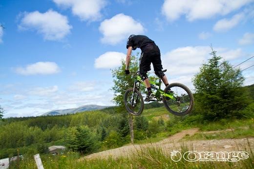 Orange Bikes Dave Flynn No Fuss Endurance DH