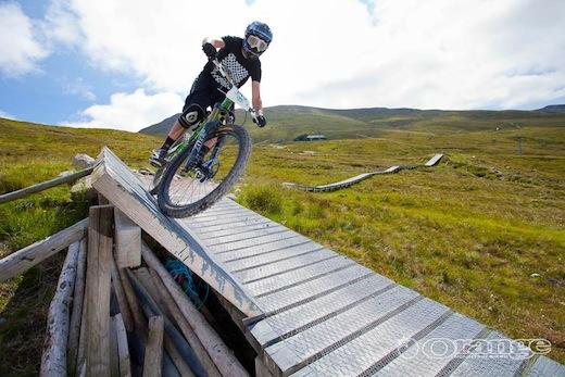 Dave Flynn Orange Bikes Fort William Endurance DH 2011 No Fuss Events