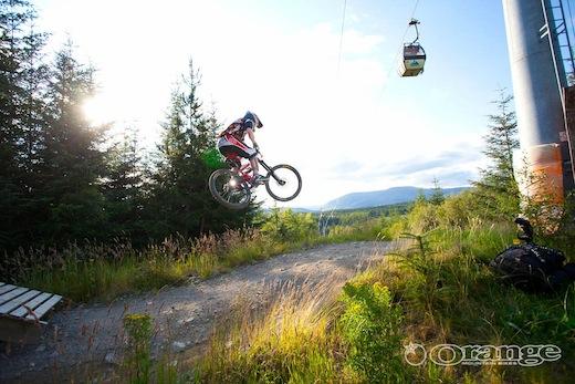 Orange Bikes Jono Sykes Fort William No Fuss Endurance DH