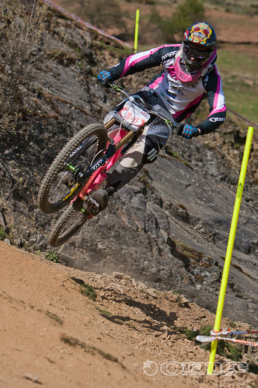 Ben Cathro Orange Bikes MTBcut Moelfre BDS