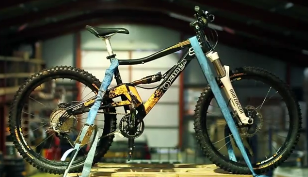 Alpine 160 Gravity Enduro Cambrian Orange Bikes