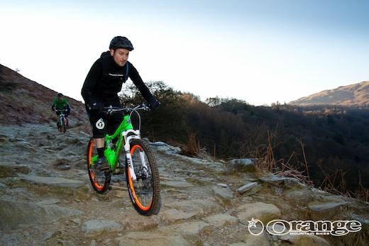 Orange Mountain Bikes demo Bike Treks