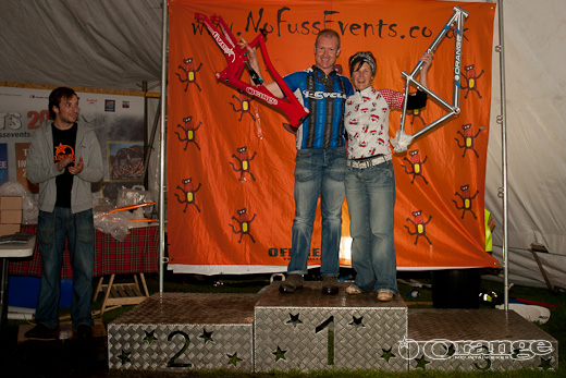 Steve Deas and Jo Cardwell - Best all round mountain biker