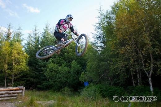 Stu Thomson Orange Bikes MTBcut Fort William Endurance DH