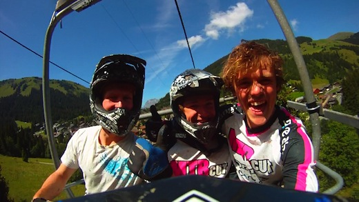 Dudes of Hazard Orange Bikes Joe Barnes Fraser McGlone Liam Moynihan