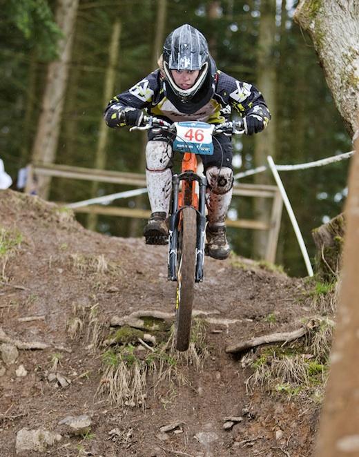 Erin Maguire Orange Bikes Alpine Bikes WInter Series