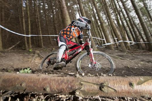Jonathan Sykes Orange Bikes Alpine Winter Series 224-evo